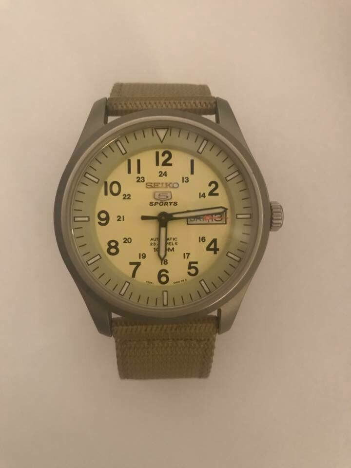 SEIKO 5 sport militaryin Bath, SomersetGumtree - The watch is in very good condition. I sell only watch without box