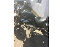 hyosung 125cc aquila