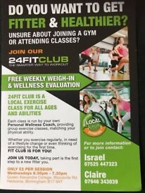 A fitness class for all abilities and ages