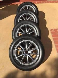 "16"" ROH Wheels + Bridgestone Potenza Tyres! (5x114.3) Carina Heights Brisbane South East Preview"
