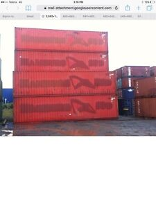 "Shipping containers 40' HC 9'6""price ex gst Carlton Kogarah Area Preview"