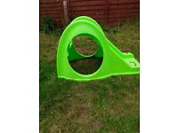Toddler bug slide with steps and tunnel