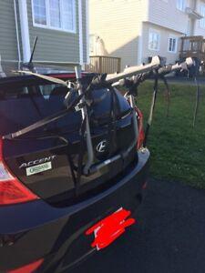 Hatchback bike rack