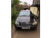Mercedes Estate 2003 black , automatic , 102 000 miles, good condition