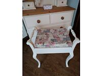 Gorgeous solid pine Dressing table & stool £265
