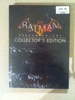 Batman Arkham Knight Colectors Edition Complete Gaming Book
