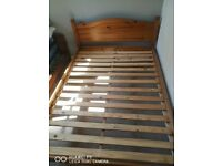 Double bed frame, good condition