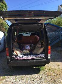 1996 Mazda Bongo 2.5TD AUTO (5 seater, perfect camper, day van)