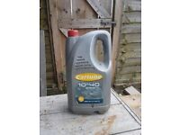 Engine Oil, NEW condition, 10w40, not used as company car fully provided.
