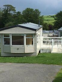 HOLIDAY CARAVAN AVAILABLE TO RENT AT TREVELLA PARK, NEWQUAY CORNWALL