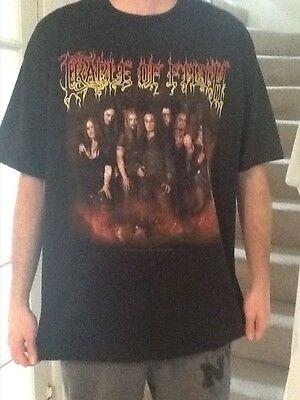Cradle of Filth US Tour T shirt Rare Black Metal Heavy Metal Mayhem Watain