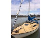 22ft Seal sailing Yacht