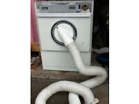 Creda 275 tumble dryer, front vented, small capacity machine.