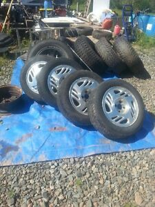 2001 Saturn tires and rims