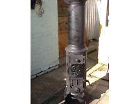Antique multifuel stove