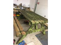 Restoring your old garden furniture to its former glory