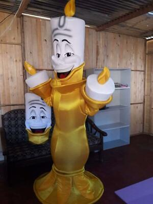 ascot Costume Cosplay Character of Beauty & The Beast  (Lumiere Kostüm)