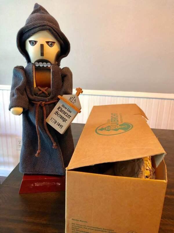 Christian Ulbricht Nutcracker RARE Ghost Of Christmas Handmade Germany