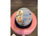 Potette plus 2-in-1 travel potty (pink)