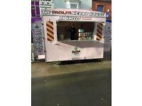 The chocolate kebab van/ catering trailer