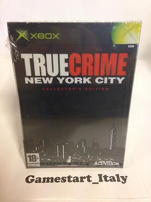 TRUE CRIME NEW YORK CITY COLLECTOR'S EDITION (XBOX) NUOVO NEW PAL VERSION