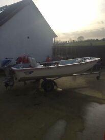 Dory 13ft fishing boat