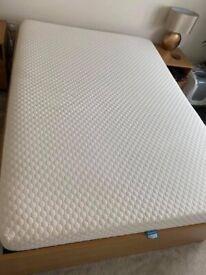 Double memory foam mattress