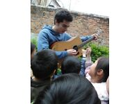 Guitar Lessons in and around the Edinburgh City Centre