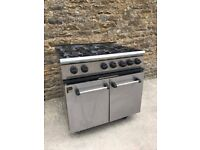 6 RING COMMERCIAL COOKER FROM PARRY