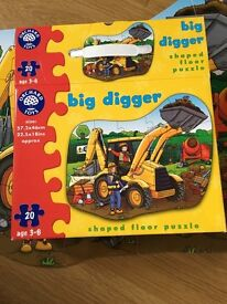 Orchard Toys Bigger Digger puzzle