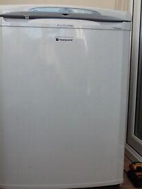 Hotpoint RLA36 under counter fridge in Polar white