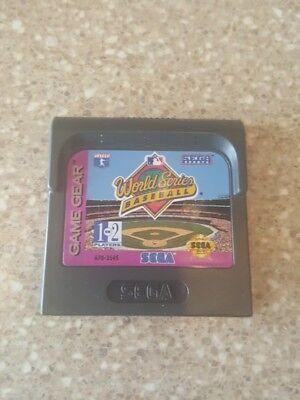 World Series Baseball -- Sega Game Gear -- Game only
