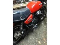 HONDA CX500 IDEAL CAFE RACER PROJECT