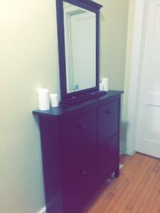 Shoes cabinet/mirror