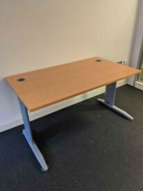 FREE SAME-DAY DELIVERY - 1400mm Wide Cantilever Office Desks