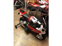 childs 6v bmw ride on motorbike,