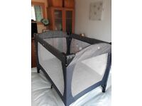 Immaculate travel cot