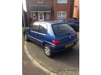 CHEAP PEUGEOT 106 FOR SALE - £400