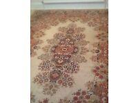 Large rug - 2740 x 3540 cm. £25.00