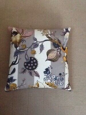 House Of Hackney Artemis Fabric Cushion COMPLETE With Duck Feather Pad 39x39 cm