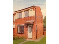 2 bedroom semi-detached house with parking and gardens in Darlaston WS10 8YD