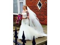 Mori Lee Wedding Dress - Size 10