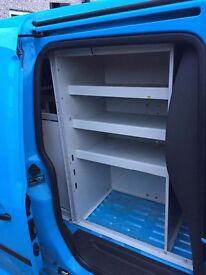 vw caddy maxi racking shelving storage rack