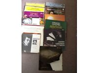 Vinyl's - Records - Rachmaninov Piano Concerto, Chopin, Schubert and others 14 records