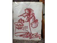 Graffiti artist Temper artwork