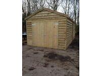 24ft x 12ft , Garage , workshop , car port , garden shed! NO VAT