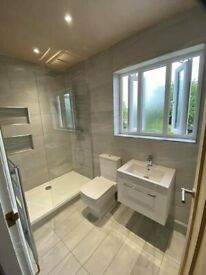 FULL bathrooms supplied & fitted 3 year guarantee at no extra cost