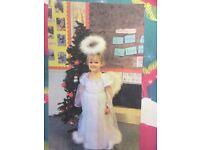Angel nativity costume 5-6 years