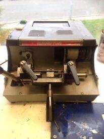 Silka Rekord Plus Key cutting machine