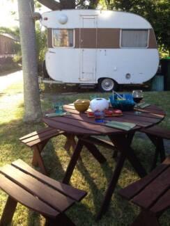 Vintage 1950's Caravan Neutral Bay North Sydney Area Preview
